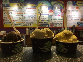 Extra ice cream at Emack & Bolio's, Albany, NY | In Search of a Scoop