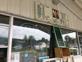 Prices listed for the Dairy Haus, Saratoga Springs | In Search of a Scoop