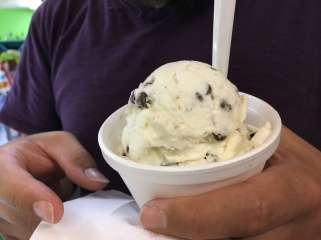 Chocolate Chip ice cream, Duck, NC | In Search of a Scoop