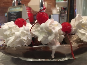 No banana split, Robin's nest, Windsor, CO | In Search of a Scoops