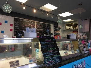Ice cream at Pink Mama's, Traveler's Rest, SC | In Search of a Scoop